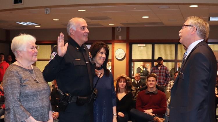 Richard Roberts sworn in