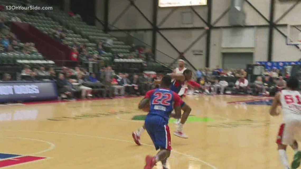 Grand Rapids Drive lose 108-103 to Red Claws