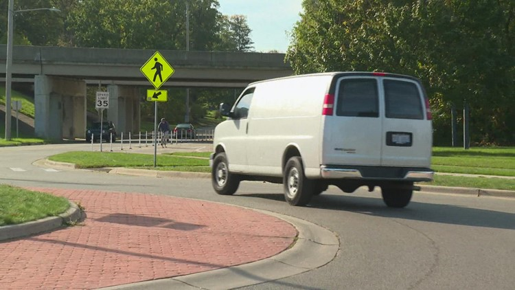 'It's kind of a dangerous design'; Search continues for driver behind hit-and-run crash