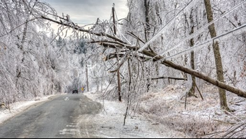 Heads up! Messy travel ahead as ice and snow move in