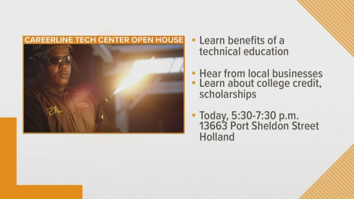 Trade Up West Michigan: Careerline open house