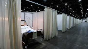 Novi convention center to be turned into state's 2nd field hospital