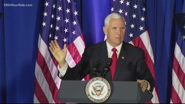 Inside the Keep America Great event with Vice President Mike Pence