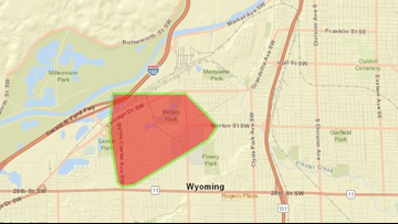 Crash knocks out power to 1,600 in Wyoming