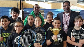 GRPS selected for national after-school tennis program