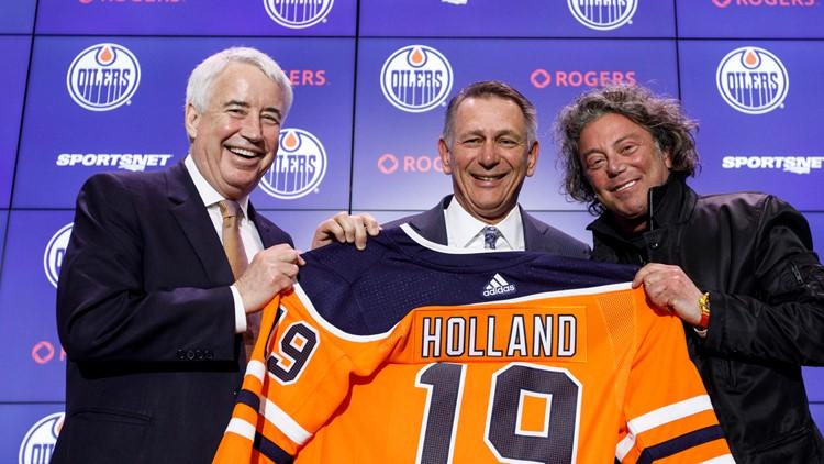 Edmonton names Ken Holland as GM, president of hockey ops