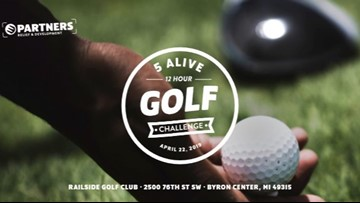 One Good Thing: 5 Alive 12 Hour Golf Challenge