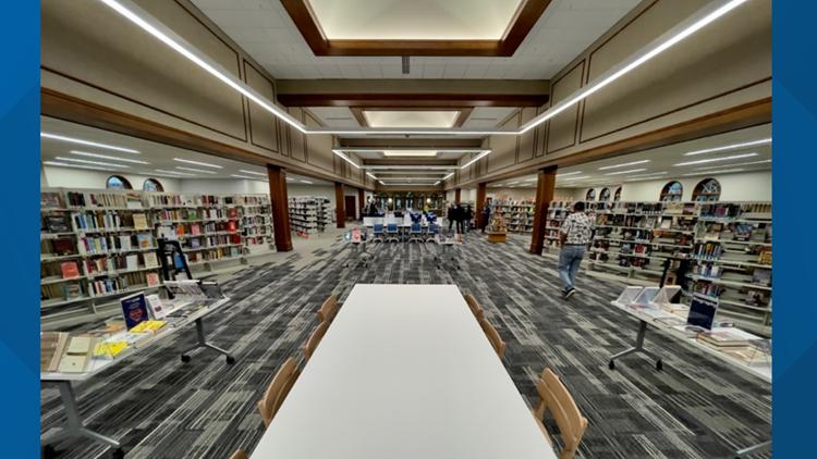 Grandville celebrates Kent District Library branch expansion