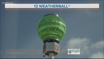 13 on Target Weather: Monday afternoon
