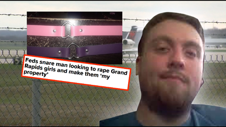 Man admits he flew to Grand Rapids to 'breed' girls and make them 'property'