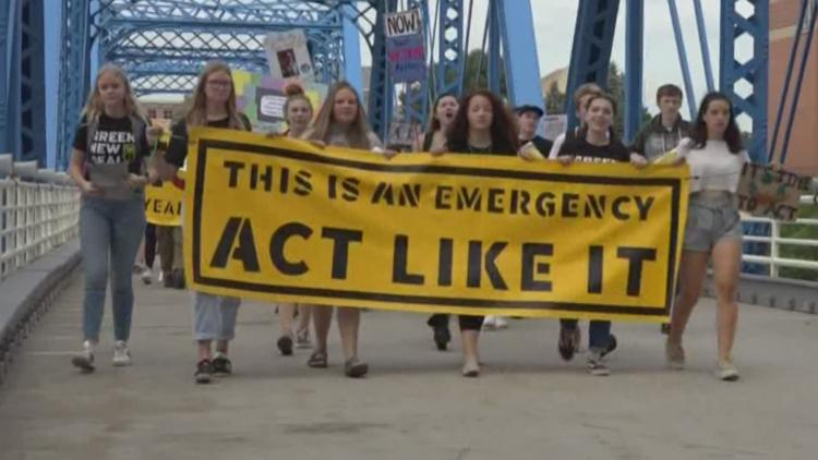 News West Michigan >> We Will Rise Local Students Join Global Climate Strike