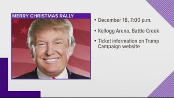 President Trump announces visit to Battle Creek
