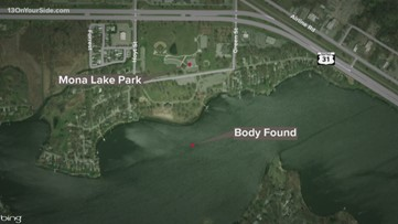 Mona Lake Park body ID'd by authorities