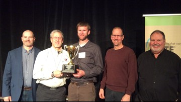 Careerline Tech Center's heavy machinery program wins state excellence award
