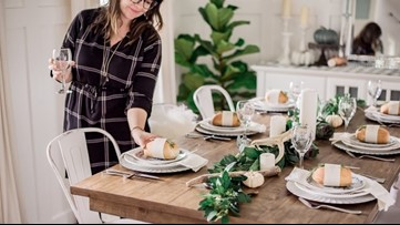 All Dressed Up: Put together a festive and function Thanksgiving table setting