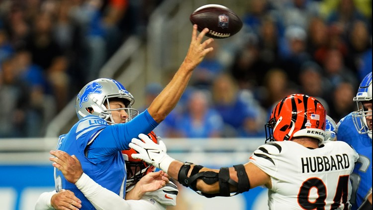 Lions' Campbell sticking with struggling QB Goff for now