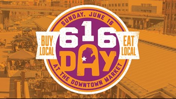 Downtown Market hosts inaugural 616 Day
