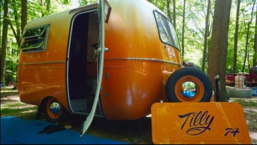 Rolling history: Retro campers hit the lakeshore