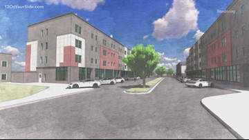 Apartment complex going up on site of Studio 28 theaters