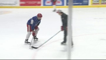 Griffins prepare for game 3 in the playoffs