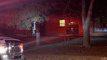 Car crashes into Kent County home overnight Saturday