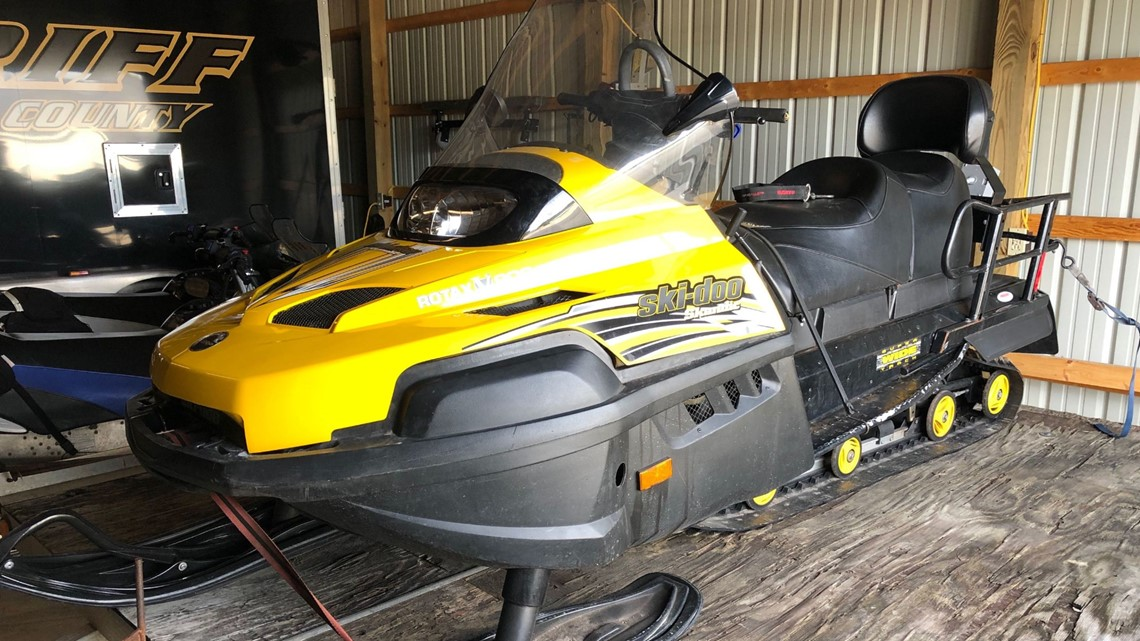 Snowmobile stolen from the Muskegon Winter Sports Complex found